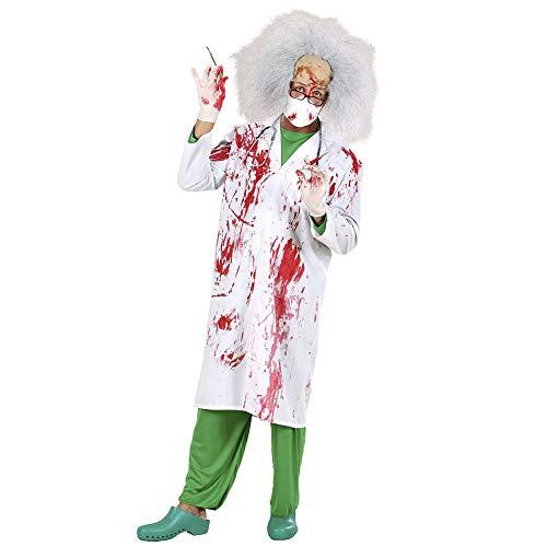 Widmann 70792 - Erwachsenenkostüm Blutiger Doktor, Blutverschmierter Laborkittel, Gröe M