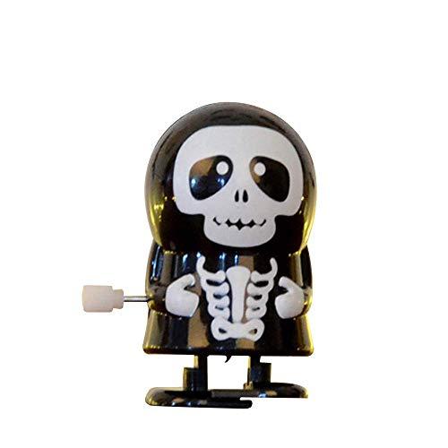 TLZR Halloween Monster Uhrwerk Wind Up Bounce Requisiten Springen Kürbis Lustige Geburtstag Spielzeug Für Jungen Mädchen (B) - Kind Auf Patrouille Kostüm
