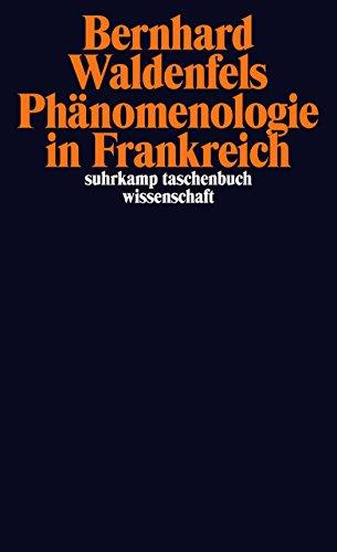Phänomenologie in Frankreich (suhrkamp taschenbuch wissenschaft)