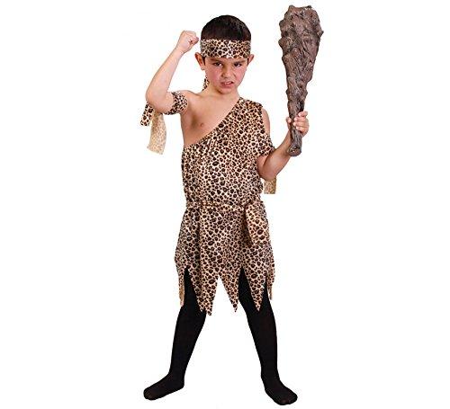 Imagen de disfraz de troglodita para niños