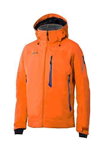 Phenix Herren Boulder Jacket Skijacke, Orange, XL (Orange Ski-jacke)