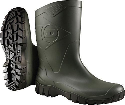 Dunlop Stivali Deed Verde/Nero Taglia 38