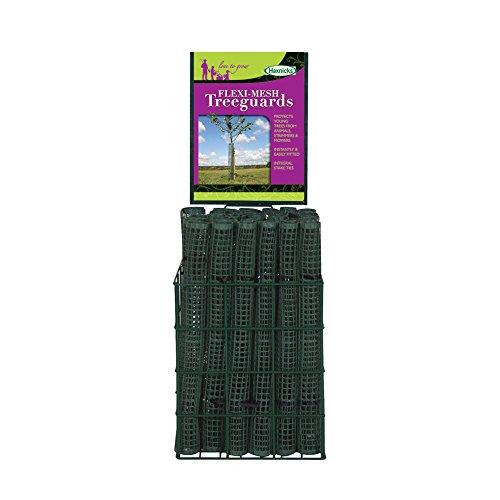 Haxnicks Glasglocke im tg020101Baumschutz/Pflanzenschutz, flexibles Netz, grün, 9x 9x 60cm