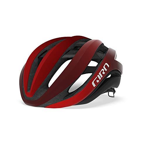 Giro Aether MIPS Rennrad Fahrrad Helm rot/schwarz 2019: Größe: L (59-63cm)