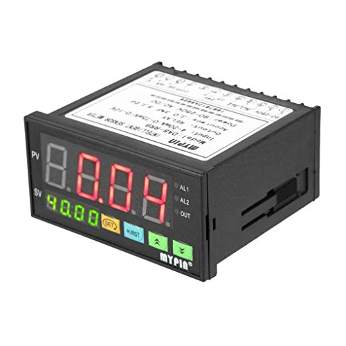 Zerama MyPin Digital Sensor Meter Multifunktionales Intelligente Drucktransmitter LED 0-75mV / 4-20mA / 0-10V 2 Relais Alarmausgang -