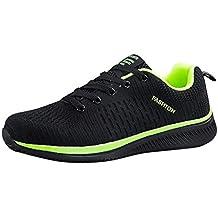 sale retailer c50d1 f58c2 Basket Hommes Pas Cher ELECTRI Chaussures Baskets Montante Blanche Unisex  Course Légères Athlétiques Jogging Sport Respirantes