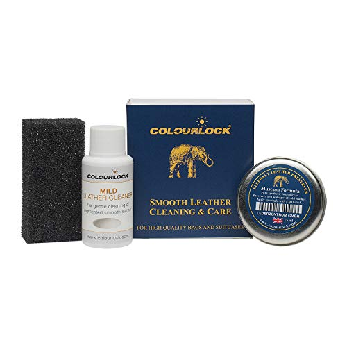 COLOURLOCK Leather Handbags Cleaner & Conditioner - Ideal kit to Clean, Polish and Protect Satchel Bags, Shoulder Bags