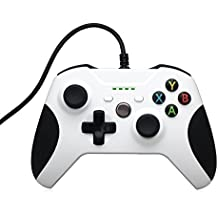 Stoga Xbox One Controller, Game Controller Gamepad oypad Joystick Per Xbox One & PC Wired di windows