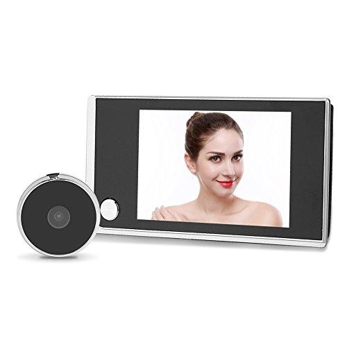 """Zerone 3.5\"""" LCD Video Digital Door Viewer Camera Timbre Sistema de Seguridad para el Hogar"""