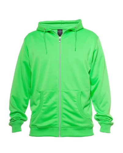 Urban Classics Neon Zip Sweat t Green green_