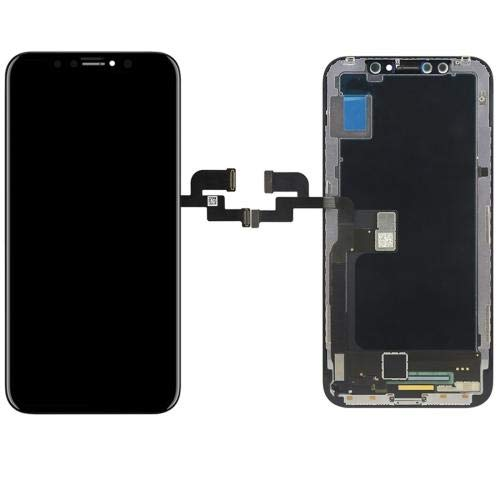 Display Vetro LCD Touch Screen Frame Ricambio Apple iPhone X 10 Nero Black BOMAItalia