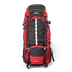 outdoorer Backpacker Rucksack Atlantis 90+10, Frontlader mit Frontöffnung, 100l Volumen