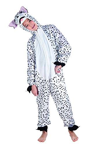 Unbekannt Aptafêtes-cs850100-Kostüm-Plüsch-Dalmatiner Max-Größe - Niederländische Karneval Kostüm