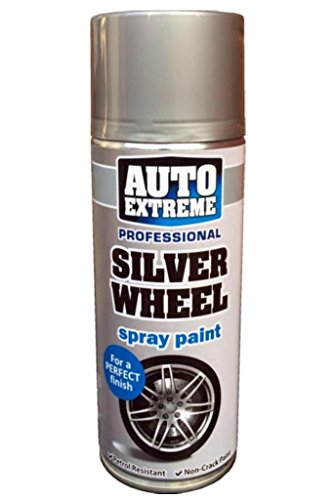 Auto Extreme Silber Rad 1924Spray Paint Aerosol 400ml, Silver Wheel, 2er-Pack - Body Paint Spray