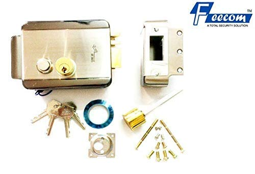 FEECOM Alba Core Electronic Stainless Steel Lock with Power Supply