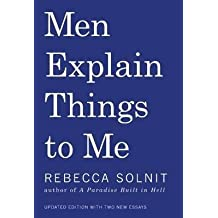 [ { Men Explain Things to Me } ] BY ( Author ) Sep-2015 [ Paperback ]