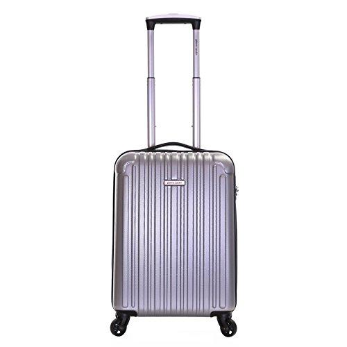 Pierre Cardin Orbis 55 centimetri a 4 ruote duro valigia cabina, Argento