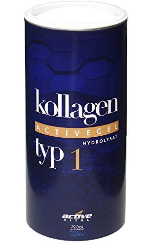 ACTIVEVITAL Kollagen-Hydrolysat-Pulver   Collagen speziell für GELENKE   500g   100 Tagesvorrat