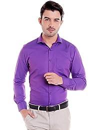 Donear NXG Mens Formal Shirt_SHIRT-1361-PURPLE
