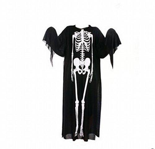 Halloween Spuk Haus Hexe Schreien Horror Geist Gesichtsmaske Skelett Tod Teufel Kopf Deckung Ganze Requisiten,Erwachsene Kleidung