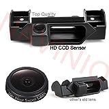 Caméra de recul avec poignée de Coffre HD CCD Voiture en Couleur Kit Caméra Vue arrière de Voiture Imperméable Vision Nocturne,Haute-résolution pour Suzuki Grand Vitara SX4/Fiat sedici AB 2006