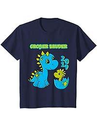 Kinder Großer Bruder 2019 Shirt Dino Dinosaurier T-Shirt