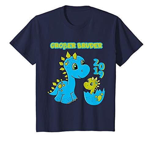 Kinder Großer Bruder 2019 Shirt Dino Dinosaurier