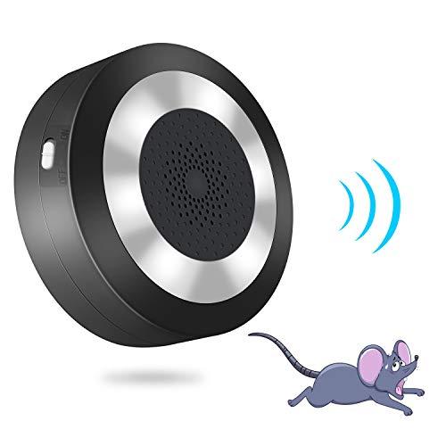 YGJ Maus Vertreiber Ultraschall + Elektromagnetische Mäuseabwehr Indoor Elektronischer Plug-in Rattenabwehr gegen Mäuse mit Nachtlicht ohne Chemie und Mäusefalle Sicher für Menschen und Haustiere