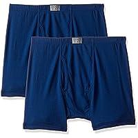 Jockey Men's Plain Brief (Pack of 2) (8008_Estate Blue_Large)