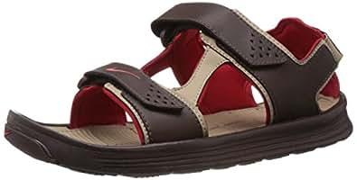 Nike Men's Urbanfloat Dark Cinder,University Red  Sandals and Floaters -10 UK/India (45 EU)(11 US)