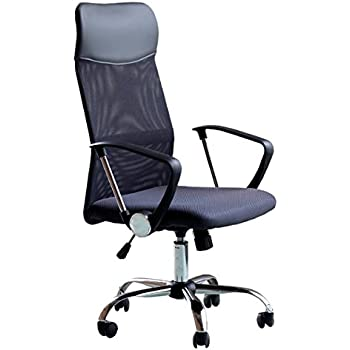 Bürostuhl ergonomisch höhenverstellbar  Merax® Schreibtischstuhl Schwarz Design Ergonomischer Bürostuhl ...