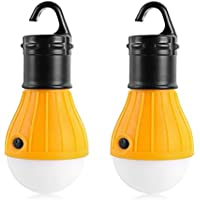 Portable LED Tent Light Lantern Bulb for Camping, Hiking, Fishing, Emergency Light, Battery Powered, Camping Equipment, Gear, Gadgets, Lamp for Outdoor & Indoor from Wild Peak ▲