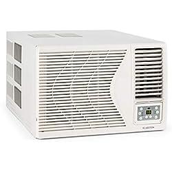 KLARSTEIN Frostik Climatiseur fenêtre - Fonction de refroidissementt 2,7 KW, Air conditionné, Classe énergétique A, Ventilateur 4 Niveaux, Température réglable Entre 16 et 30 °C