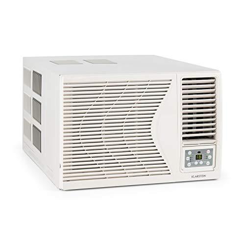 Klarstein Frostik - Pure White Edition, Condizionatore, Climatizzatore, Condizionatore da Finestra, Classe...