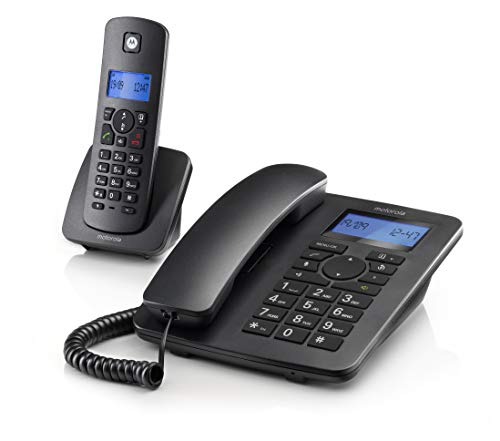 Motorola C4201 Combo - Teléfono Fijo + Teléfono