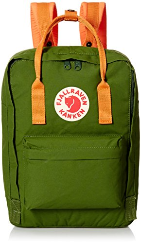 Fjällräven Kånken Mochila para Laptop 35 cm compartimento portátil leaf green burnt orange