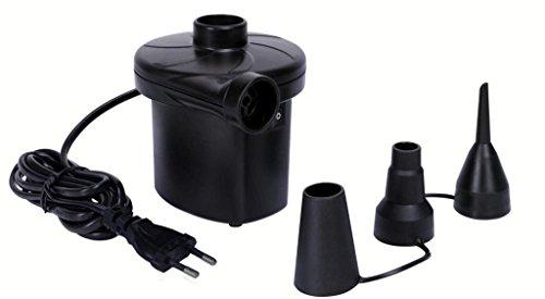 Piyuda AC Electric Vaccum Air Pump - Quickly Inflates / Deflates Sofa, Bed, Swimming Pool Tubes, Toys,Air Bags, Mattresses
