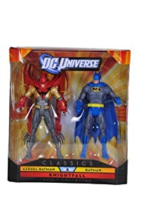 DC Universe Classics Knightfall Azrael Batman & Batman Figure 2 Pack