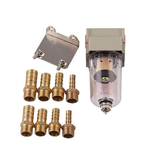 KKmoon Universal Motor ölabscheider Motorluftfilter Vorratsbehälter kann Verunreinigungen herausfiltern
