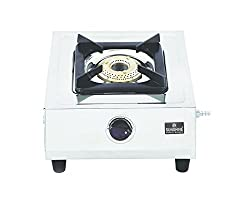 Sunshine Supreme Jumbo Single Burner Stainless Steel Gas Stove