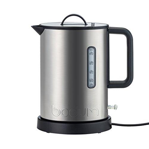 Bodum 5500-57euro-2Ibis Elektrischer Wasserkocher, 2020W, 1,5l, chrom matt