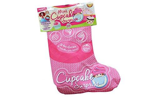 Calza Befana Cupcake 2018 trovi sempre 2 mini Principesse Cupcake e tante altre Sorprese