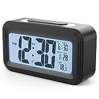 YOMYM Alarm Clock for Home Office Travel (Digital alarm clock)