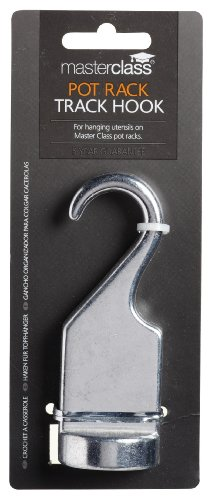 KitchenCraft MasterClass Solid Pan Rack Hook, 10.5 cm