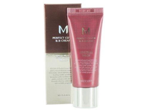 MISSHA M Perfect Cover BB Cream SPF42/PA+++ No.27/Honey Beige, 20 ml