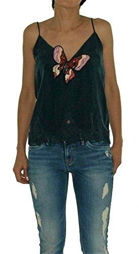 Pepe jeans AL300126 Canotta Donna Blu