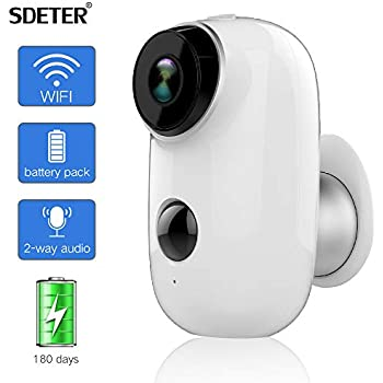 Rechargeable Battery Outdoor Security Camera: Amazon co uk