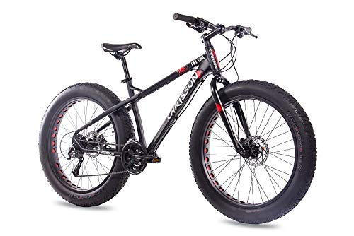 CHRISSON 26 Zoll Fatbike Mountainbike Fahrrad – Fat Two… | 04250585413702