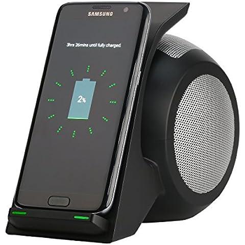 aosang 2in1caricatore Wireless con NFC Bluetooth Speaker 5V 1.67A Custodia