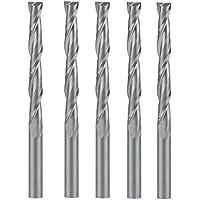 UE _ hozly carburo sólido doble dos flauta cortador en espiral (4x 32mm CNC Router Bits Pack de 5
